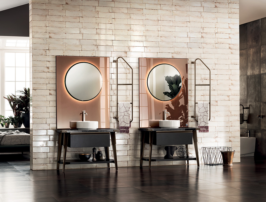 Image of Scavolini Diesel Open Workshop bathroom