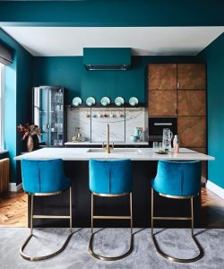 Image of Metallics Collection kitchen by Ledbury Studio