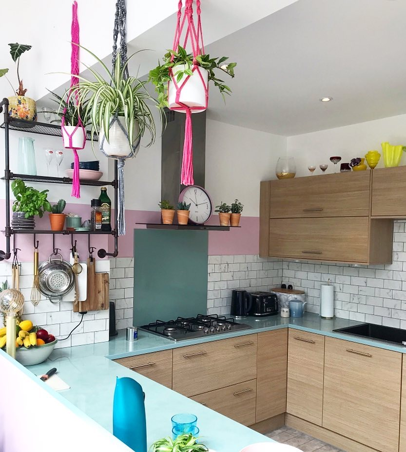 Image of kitchen paint by @naptimestyle
