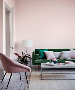 Image of painted walls from Crown Paints