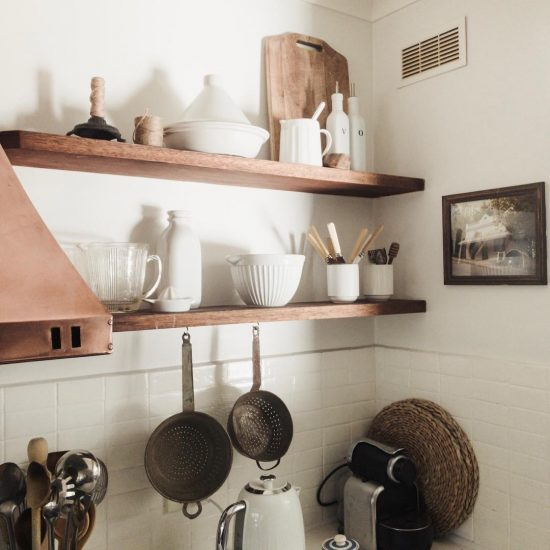 Image showing tile paint used in the kitchen of @the_woodend_stylist