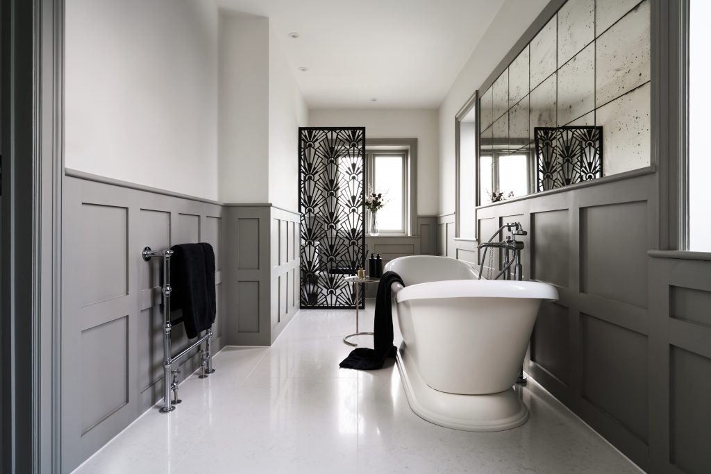 Image of a relaxing bathroom designed by Ripples