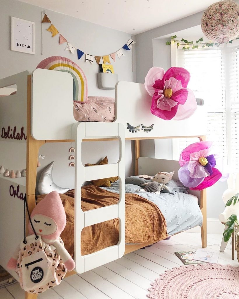 Image of bunk beds from @thisismyhomestyle