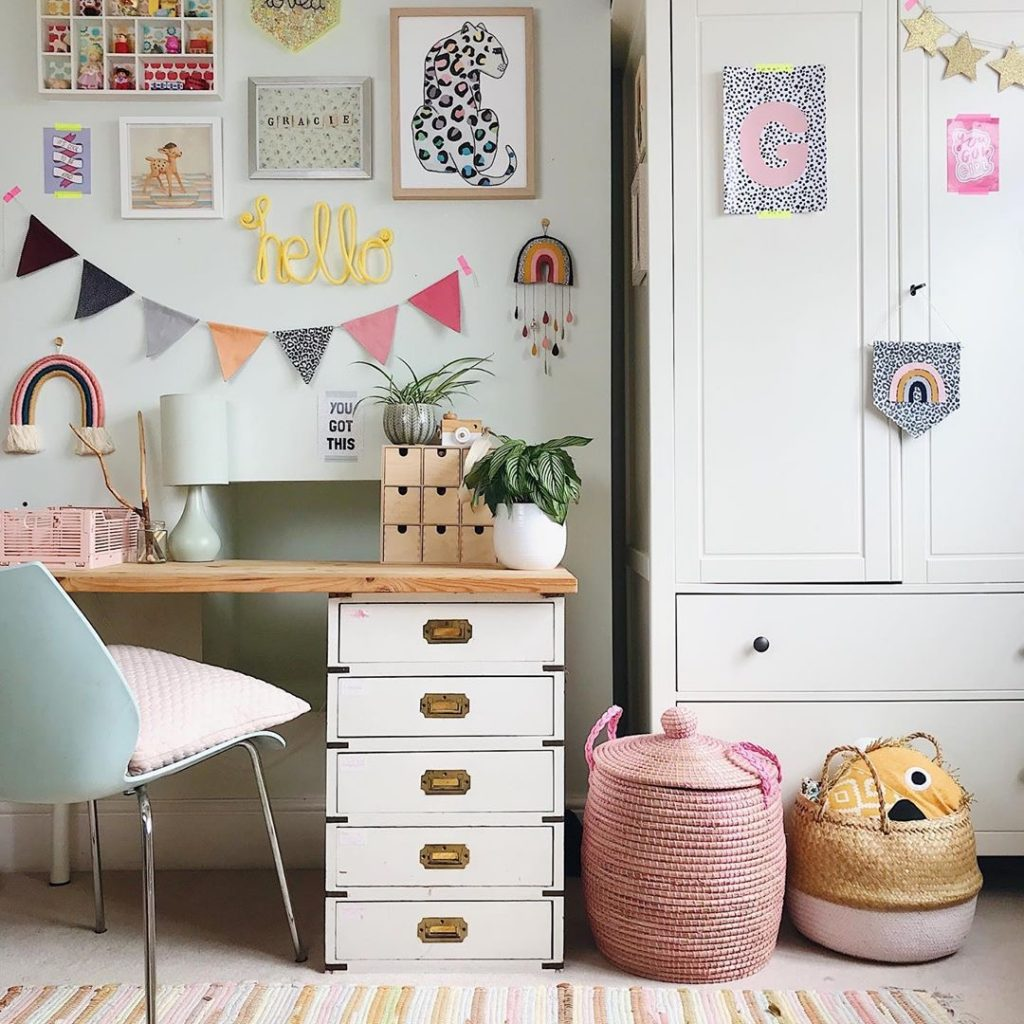 Image of kids' bedroom by@homestylemother
