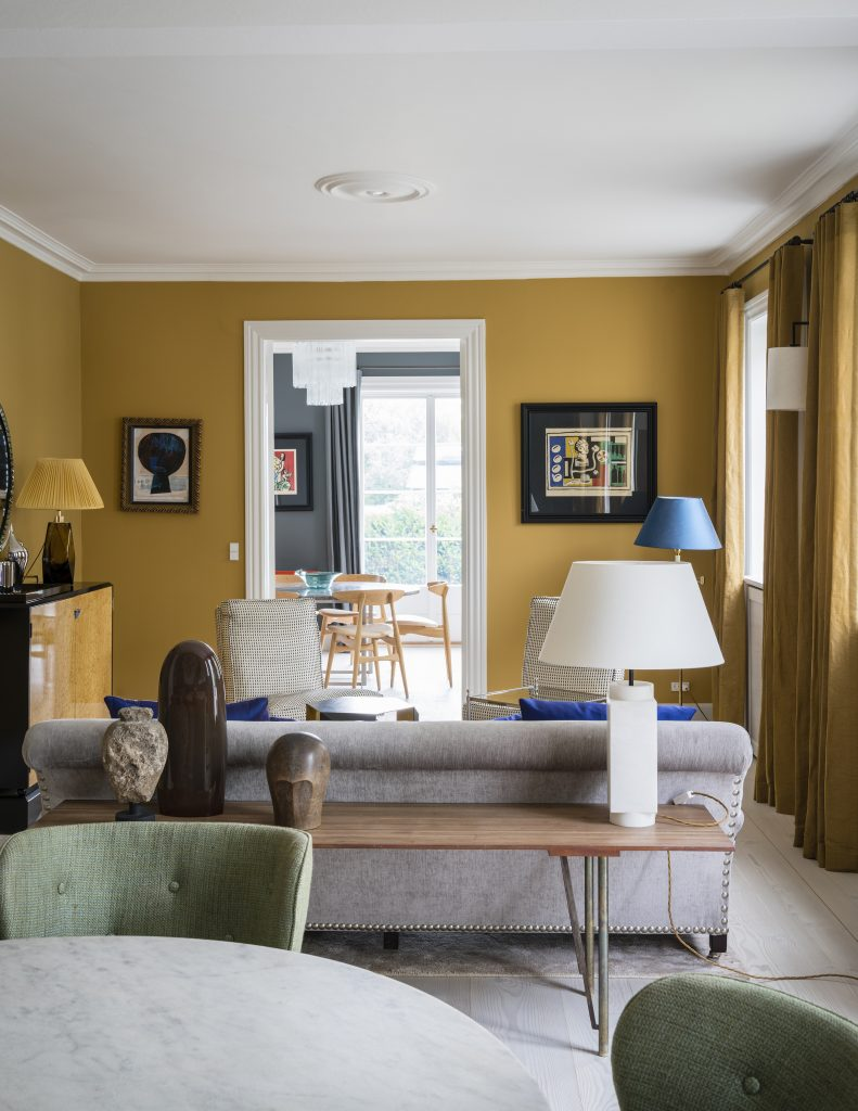 Image of Farrow & Ball India Yellow Credit: Jannik Martensen-Larsen