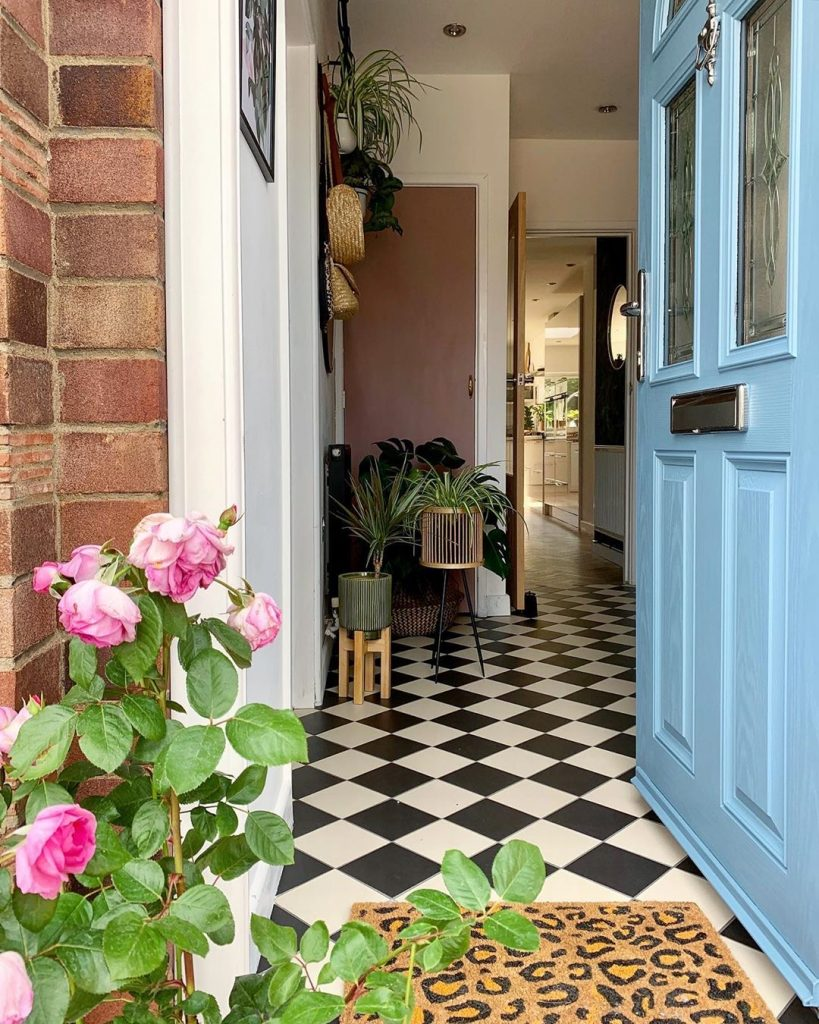 Image of the hallway of @prettygate_home