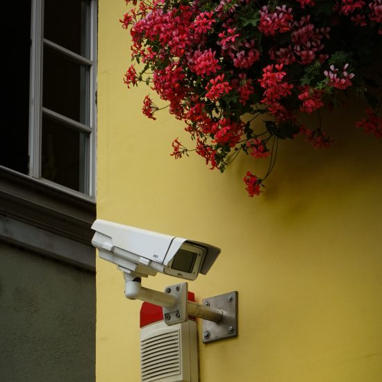 Image of CCTV camera by Max Bohme on Unsplash