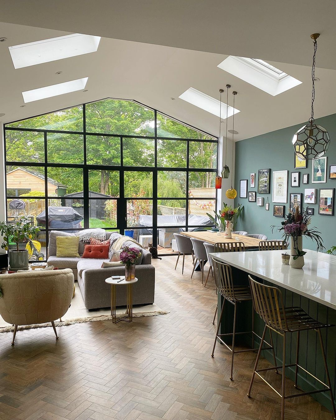 Image of a rear extension in the home of @85_wf