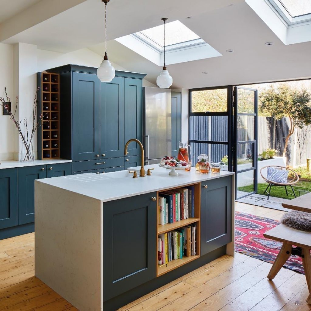 Image of a rear extension courtesy of @sheratoninteriors