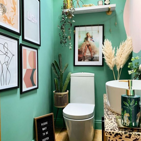 Image of a cloakroom by @caradiseblog