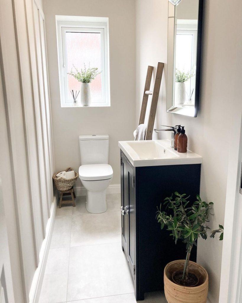 Image of a bathroom by @kn_athome