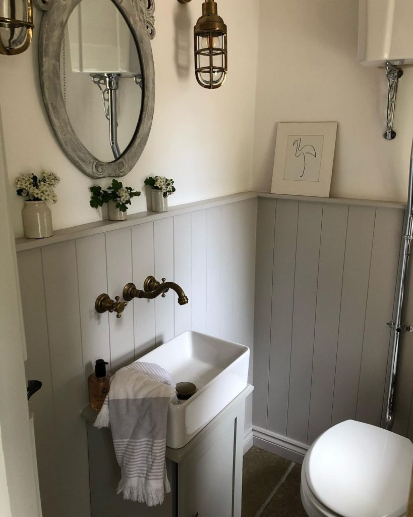Image of a cloakroom by @my_yorkshire_barn
